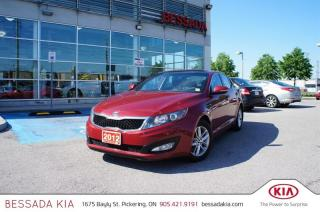 Used 2012 Kia Optima LX Plus at for sale in Pickering, ON