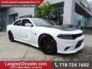 Used 2016 Dodge Charger SRT Hellcat w/ 6.2L SUPERCHARGED HEMI SRT V8, COMPETITION SUSPENSION & LAGUNA LEATHER UPHOLSTERY for sale in Surrey, BC