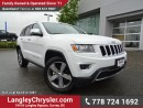 Used 2016 Jeep Grand Cherokee Limited W/ 4X4, LEATHER UPHOLSTERY & NAVIGATION for sale in Surrey, BC
