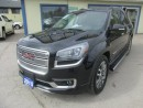 Used 2015 GMC Acadia LOADED DENALI EDITION 7 PASSENGER 3.6L - V6.. AWD.. CAPTAINS.. 3RD ROW.. LEATHER.. DUAL SUNROOF.. NAVIGATION.. BACK-UP CAMERA.. for sale in Bradford, ON