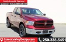 New 2017 Dodge Ram 1500 SLT BLUETOOTH, BACK UP CAMERA, TRAILER BRAKE CONTROL, HANDS FREE for sale in Courtenay, BC