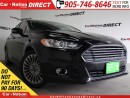 Used 2014 Ford Fusion Titanium| AWD| LEATHER| NAVI| BACK UP CAM| for sale in Burlington, ON