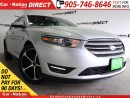 Used 2015 Ford Taurus SEL| LEATHER| BACK UP CAMERA & SENSORS| for sale in Burlington, ON