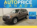 Used 2014 BMW X3 NAVIGATION XENON PANORAMIC ROOF for sale in Mississauga, ON