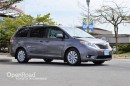 Used 2014 Toyota Sienna Leather Interior w/Woodgrain Trim, Power/Heated Front Seats, Back Up Cam, Bluetooth, Sunroof for sale in Richmond, BC