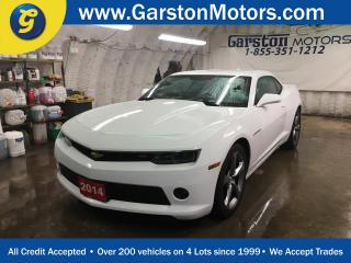 Used 2014 Chevrolet Camaro LT-RS*KEYLESS ENTRY*BOSTON PREMIUM AUDIO*MY LINK PHONE CONNECT*BACK UP CAMERA*TRACTION CONTROL*FOG LIGHTS*ALLOYS*AM/FM/XM/BLUETOOTH* for sale in Cambridge, ON