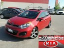 Used 2013 Kia Rio5 SX KIA CERTIFIED PRE-OWNED for sale in Cambridge, ON
