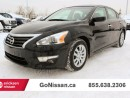 Used 2015 Nissan Altima Great on fuel, power options, low kms for sale in Edmonton, AB
