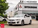 Used 2017 Mitsubishi Lancer GTS - Premium, Leather, Roof, 18`Alloys, Demo for sale in Mississauga, ON