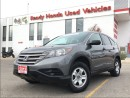 Used 2013 Honda CR-V LX AWD for sale in Mississauga, ON