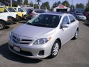 Used 2013 Toyota Corolla CE, sunroof, new tires, for sale in Surrey, BC