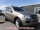 Used 2008 Mercedes-Benz M-CLASS ML320 4D UTILITY AWD CDI for sale in Calgary, AB