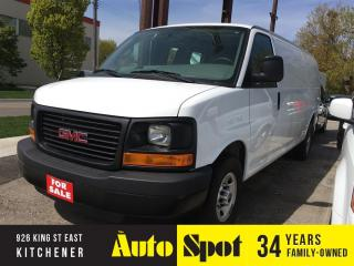Used 2016 GMC Savana cargo for sale in Kitchener, ON