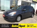 Used 2007 Toyota Sienna CE/LOW, LOW KMS/PRICED FOR A QUICK SALE for sale in Kitchener, ON
