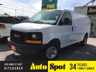 Used 2016 GMC Savana OUR VEHICLE FROM NEW/PRICED FOR A QUICK SALE for sale in Kitchener, ON