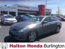 Used 2012 Infiniti G37 SPORT/ LEATHER HEATED SEATS/ BLUETOOTH for sale in Burlington, ON