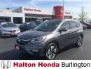 Used 2016 Honda CR-V Touring | ALLOYS | LEATHER | SUNROOF for sale in Burlington, ON