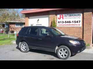 Used 2009 Hyundai Santa Fe Limited AWD - Leather, Sunroof, Low Kms! for sale in Elginburg, ON