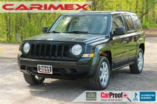 Used 2011 Jeep Patriot Sport/North   4x4   ONLY 82K   CERTIFIED for sale in Waterloo, ON