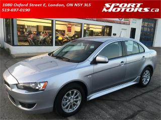 Used 2010 Mitsubishi Lancer SE for sale in London, ON