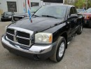 Used 2005 Dodge Dakota POWER EQUIPPED SLT MODEL 4 PASSENGER 3.7L ENGINE.. 4X4.. EXTENDED CAB.. SHORT BOX.. RUNNING BOARDS.. AM/FM/CD PLAYER.. KEYLESS ENTRY.. for sale in Bradford, ON