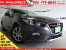 Used 2014 Mazda MAZDA3 GX-SKY| GREAT ON GAS| PUSH START| for sale in Burlington, ON