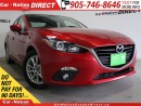 Used 2014 Mazda MAZDA3 GS-SKY| SUNROOF| NAVI| BACK UP CAMERA| for sale in Burlington, ON