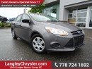 Used 2014 Ford Focus S ACCIDENT FREE! for sale in Surrey, BC
