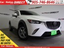 Used 2016 Mazda CX-3 GS| LOW KM'S| AWD| NAVI| LEATHER| SUNROOF| for sale in Burlington, ON
