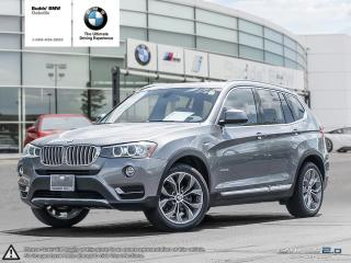 Used 2015 BMW X3 xDrive35i AWD | RV CAM | HEATED SEATS for sale in Oakville, ON