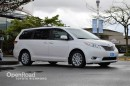 Used 2014 Toyota Sienna Entertainment System, Navi, Leather Interior w/Woodgrain Trim, Power Driver Seat, Heated Front Seats for sale in Richmond, BC