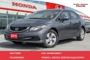Used 2015 Honda Civic LX (MT) for sale in Whitby, ON