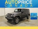 Used 2017 Jeep Wrangler Unlimited SAHARA AUTO NAVIGATION for sale in Mississauga, ON