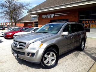 Used 2007 Mercedes-Benz GL-Class GL450 AWD , LOADED, LOW KM, 7 SEATERS , CERTIFIED for sale in Concord, ON