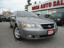Used 2008 Hyundai Sonata 4dr Sdn I4 Auto GLS SUNROOF NO RUST SAFETY ETEST P for sale in Oakville, ON