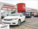 Used 2012 Honda Civic EX, oneowner, clean carproof great deal for sale in Scarborough, ON