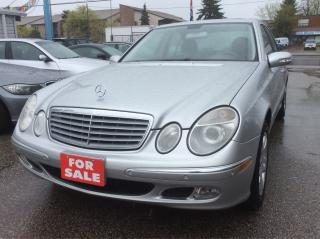 Used 2003 Mercedes-Benz E-Class 3.2L/Leather/Sunroof/Heated Seats/Alloy/Al Pwr Ops for sale in Scarborough, ON