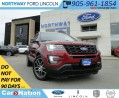 Used 2017 Ford Explorer Sport | LEATHER | NAV | PANO ROOF | REAR CAM | for sale in Brantford, ON