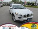 Used 2015 Jeep Cherokee LIMITED | LEATHER | NAV | CLEAN for sale in London, ON