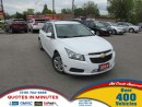 Used 2014 Chevrolet Cruze 1LT | TURBO | BACKUP CAMERA | MUST SEE for sale in London, ON