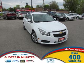 Used 2014 Chevrolet Cruze 1LT   TURBO   BACKUP CAMERA   MUST SEE for sale in London, ON
