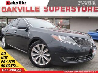Used 2014 Lincoln MKS EcoBoost | AWD | NAVIGATION | PANORAMIC SUNROOF for sale in Oakville, ON
