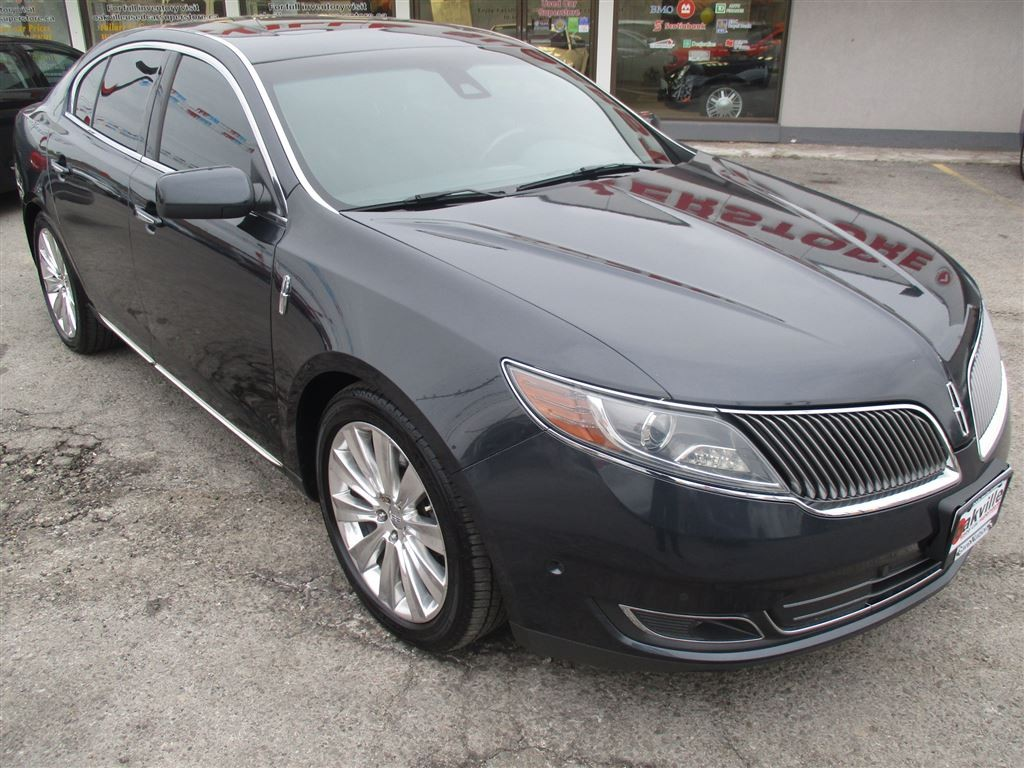 used 2014 lincoln mks ecoboost awd navigation. Black Bedroom Furniture Sets. Home Design Ideas