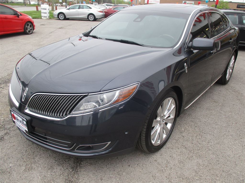 used 2014 lincoln mks ecoboost awd navigation panoramic sunroof for sale in oakville. Black Bedroom Furniture Sets. Home Design Ideas