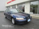 Used 2002 Honda Accord Sdn SE for sale in Burnaby, BC