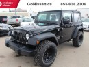 Used 2015 Jeep Wrangler Lift Kit, Sport, Awesome Look, low KMS.. for sale in Edmonton, AB