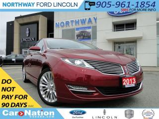 Used 2013 Lincoln MKZ SUMMER MELTDOWN | HEATED SEATS | TURBO | for sale in Brantford, ON
