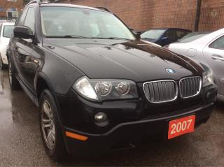 Used 2007 BMW X3 3.0I for sale in Scarborough, ON