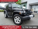 Used 2015 Jeep Wrangler Sahara ACCIDENT FREE W/ 4X4, U-CONNECT BLUETOOTH & NAVIGATION for sale in Surrey, BC