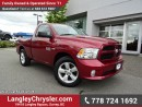 Used 2015 Dodge Ram 1500 ACCIDENT FREE w/ POWER WINDOWS/LOCKS & TOW PACKAGE for sale in Surrey, BC